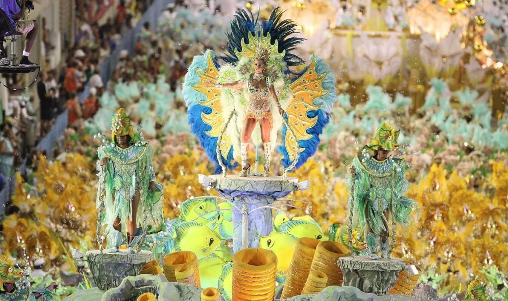 Sambadrome : carnaval de Rio
